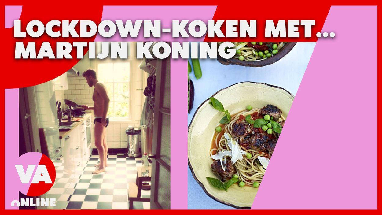 Afbeelding van Lockdown-koken met Martijn Koning