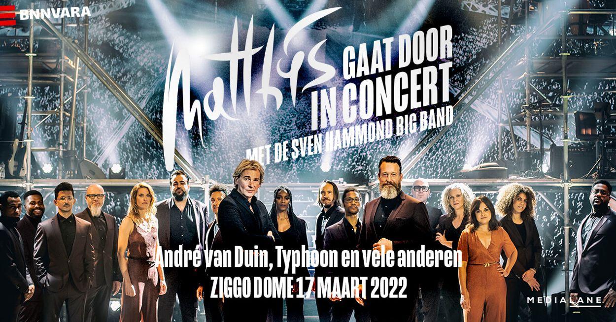 Afbeelding van Matthijs Gaat Door in Concert