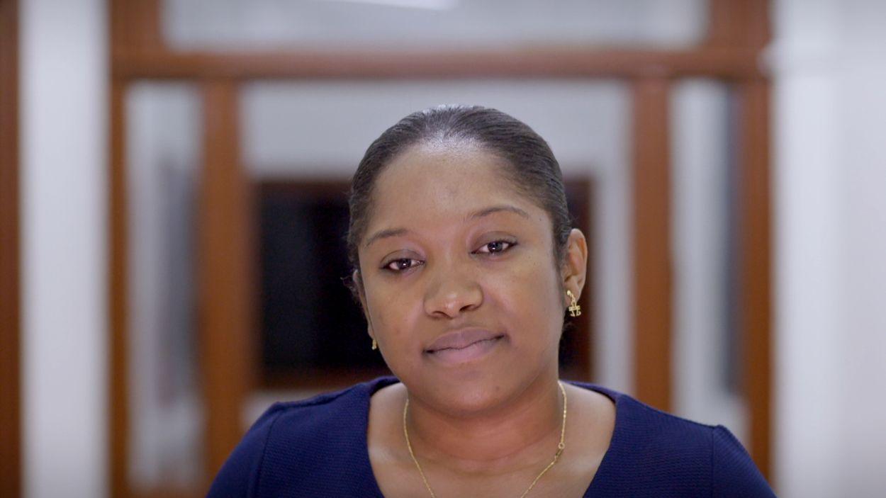 Kiana Wilburg, Kaieteur News Guyana