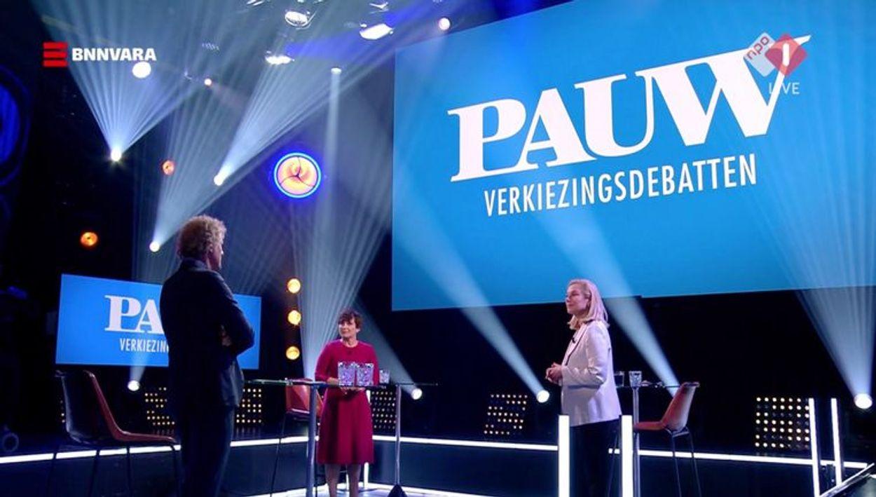 Pauwsverkiezingsdebattenstill
