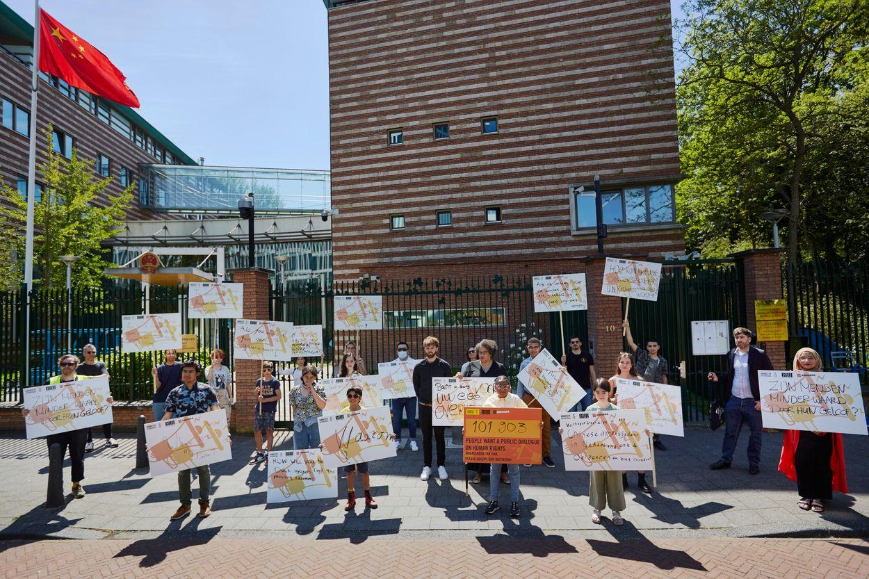Afbeelding van 101.903 handtekeningen voor petitie Pak De Macht en Amnesty