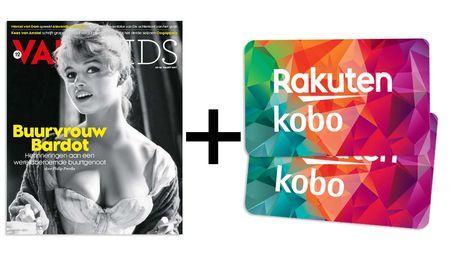 Afbeelding van 1 jaar VARAgids + Kobo-cadeaukaart voor €44,95