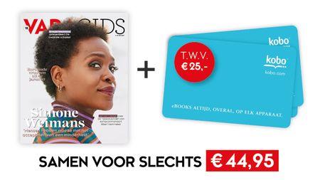 Afbeelding van 1 jaar VARAgids + Kobo-cadeaukaart t.w.v. €25,- voor €44,95