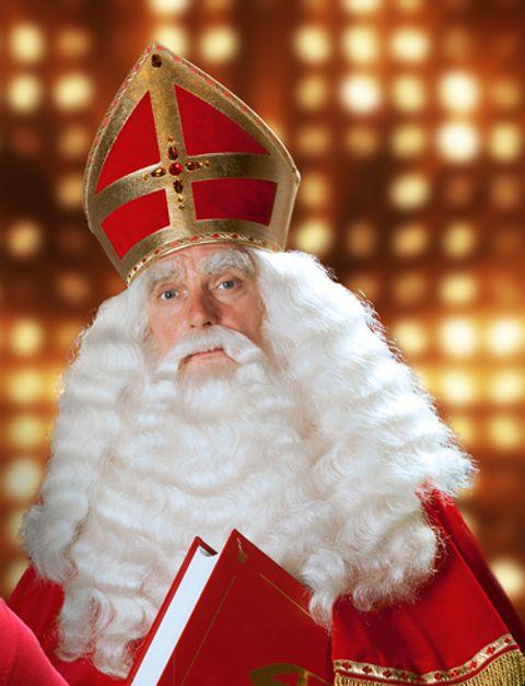 Sfeerfoto van Sinterklaas, wie kent hem niet!?