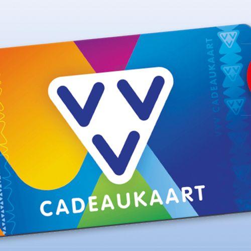 10 x VVV cadeaukaart t.w.v. €20,-