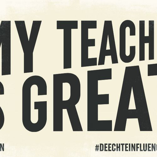 Afbeelding van Vind jij ook dat docenten de echte influencers zijn?