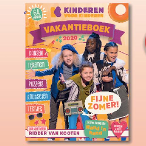 Afbeelding van Maak kans op het Kinderen voor Kinderen vakantieboek