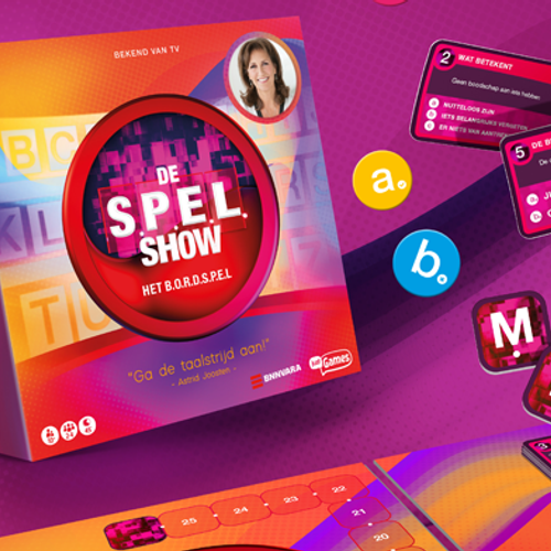 Win het bordspel van de S.P.E.L show