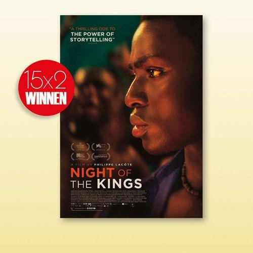 15X2 bioskaarten Night of the kings