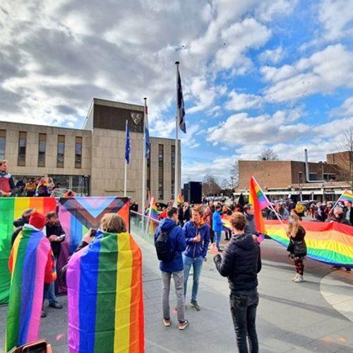 Afbeelding van Protesten tegen homofobie naar aanleiding van BOOS
