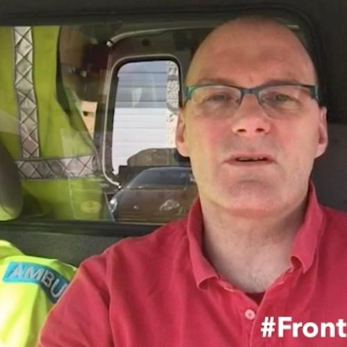 Afbeelding van 24 maart: Ambulance chauffeur Edwin Bos