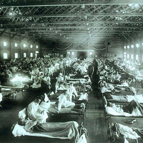 Afbeelding van 'Dit is een van de ergste pandemieën sinds de Spaanse griep'