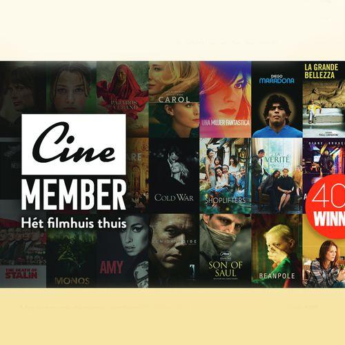40X een maand gratis Cinemember