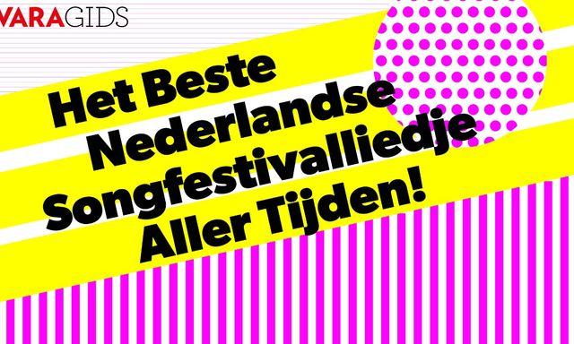 Afbeelding van Kies Het Beste Nederlandse Songfestivalliedje Aller Tijden!